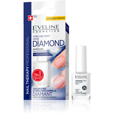 Eveline Cosmetics Diamante rigida e lucido Unghie Therpay Rinforzante