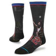NWT Men's Stance Fusion Hoops Crew Socks ( Dr. J ) - Size Large (9-12)