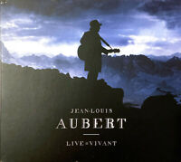 Jean-Louis Aubert 2xCD + DVD Live = Vivant - Digipak - France (EX/EX+)