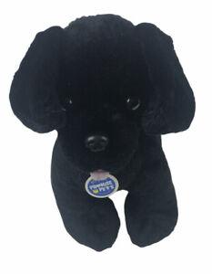 "Build A Bear Promise Pets Black Lab Dog Puppy 12"" Plush Stuffed Animal"