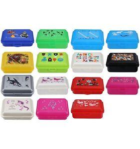 Brotdose Fizzii Kinder Lunchbox mit Trennfach Schule
