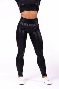 "NEBBIA High Waist ""Sandra D"" Glossy Leggings 656"