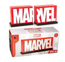 Gentle Giant Studios Official MARVEL Logo Bookends Limited Edition Collectible