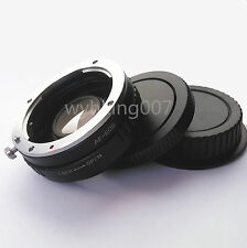 Sony Alpha Minolta AF Lens to Canon EOS EF Optical Adapter Infinity Glass 5D 7D