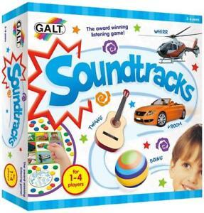 Galt Toys Soundtracks Listening Game, Original Award Winning Match Sounds Game