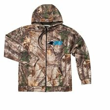 MENS NFL CAROLINA PANTHERS REALTREE CHAMPION TECH  FULL-ZIP HOODIE XXXXLARGE 4XL
