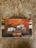 Maisto 1:18 Series 7 Harley Davidson Motorcycle DIECAST ALABAMA STATE TROOPER