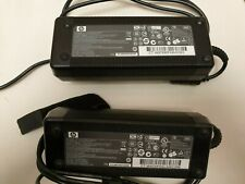 2x HP LAPTOP CHARGERS PPP016H (18.5V,6.5A)