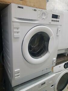 New Unboxed Zanussi Z712W43BI 7kg 1200spin Integrated Washing Machine