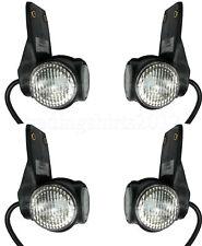 4x 24V Trailer End Outline Marker Lights Lamps LED fit Truck Trailer Lorry E4