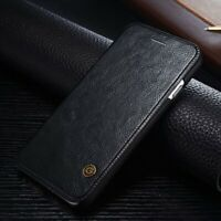 For iPhone 11 Pro Max XS XR 6S 7 8 Genuine G-CASE Leather Wallet Flip Case Cover