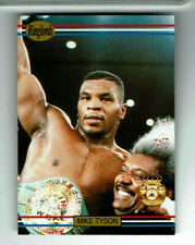 1991 Mike Tyson Ringlords Boxing Sample Card