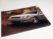 2001 Hyundai Sonata GLS Brochure