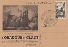 Frankreich: 1945: Oradour sur Glane