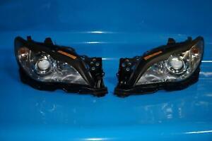 JDM Subaru Impreza WRX STi Rev9 V9 HID Headlights Head Lamps Pair 2006-2007 #922
