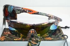 VERTX Premium Sport REAL CAMO Sunglasses New Wrap Around 56080 REAL CAMO
