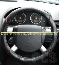 DODGE FAUX LEATHER RED STEERING WHEEL COVER