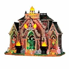 LEMAX SPOOKY TOWN Halloween House/Village - ALL HALLOWS MAUSOLEUM *Sights/Sounds
