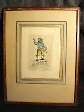 Lithographie ancienne de Jos Hunin 1825  SIGNOORKEN  encadrée