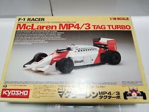 KYOSHO 1/18 Radio Control Car MCLAREN MP4/3 TAG TURBO