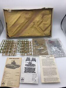 ESCI Tobruk Africa Gate 1:72 Scale Model Kit Diorama Vintage WWII German British