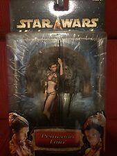 Star Wars™ UNLEASHED Princess Leia SLAVE OUTFIT (2002 Saga Issue) Rare Figure