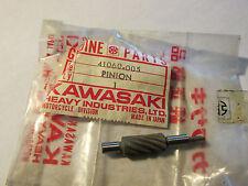 KAWASAKI NOS NEW G3 G4 G5 KE F7 C2 C2SS G3SS SPEEDOMETER PINION 41060-005 OM8