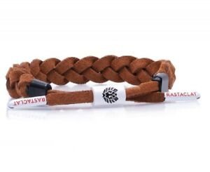 RASTACLAT Jux Brown Suede Classic Jordan Nike Wristband Bracelet Jewelry NEW
