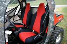 Polaris RZR 570 800 XP900 2008-2014 Seat Covers Set Custom Made | Red / Black