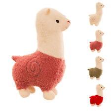 Lovely Grass Mud Horse Llama Alpaca Sheep Plush Fleece Stuffed Doll Kid Cute Toy