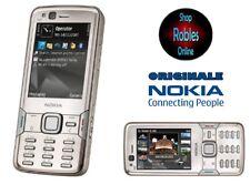 Nokia N82 Silver (Ohne Simlock) 5MP Zeiss WLAN 3G GPS Original Finland SEHR GUT