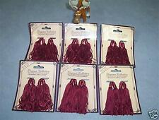 "Burgundy Tassels 3"" Lot of 24"