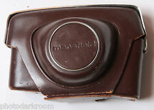 Mansfield Camera Case - Fitted Approx. 3D x 6W x 3.5H - VINTAGE C11