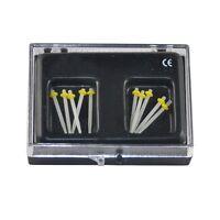 2018 1.0MM 10Pcs Dental Fiber Post Glass Set Refill Drill Thread Files aaa