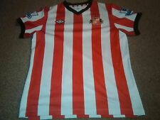 Sunderland AFC Umbro Red/White Home Short Sleeve LB Shirt