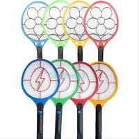 Rechargeable/Battery Insect Pest Bug Fly Mosquito Zapper Swatter Killer Racket