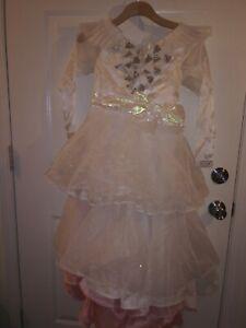 Disney Store Glinda Good Witch Wizard Oz Limited Edition Costume Dress Size 10