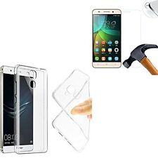 pour Huawei Honor 5X / Honor X5 Coque gel  - TRANSPARENT +1 verre trempé