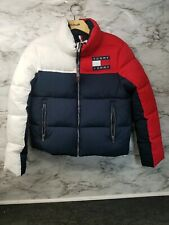 Tommy Hilfiger Tommy Jeans Colorblock Zip Puffer Jacket...