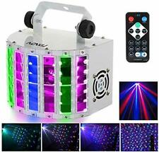 Licht-Effekte Lixada 24 W RGBW Disco-Beleuchtung 100 – 240 V 7 Kanäle