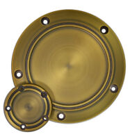 Retro Bronze Derby Cover & Timing Timer Covers Fit For Twin Cam Dyna Softail FXS