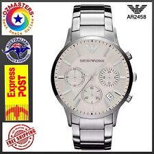 Emporio Armani AR2458 Sportivo Stainless-Steel Quartz Men's Watch
