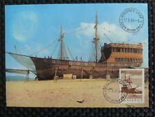 BULGARIA MK 1969 PIRATENSCHIFF PIRATE SHIP MAXIMUMKARTE MAXIMUM CARD MC CM a8710