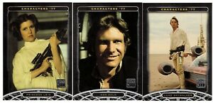 STAR WARS 30th ANNIVERSARY COMPLETE 120-CARD BASE SET