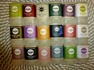HUMBLE~U PICK YOUR SCENT~18 SCENTS AVAILABLE~TRAVEL SIZED DEODORANT 0.35 OZ EACH