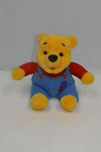 "Disney Mattel 1997 Hug N Wiggle Giggle Winnie The Pooh Talking 15"" Bear"