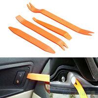 4PCS PLASTIC CAR AUDIO DOOR CLIP PANEL TRIM DASH AUTO RADIO REMOVAL PRY KIT TOOL