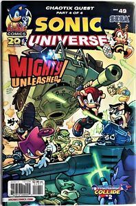 SONIC UNIVERSE Comic #49 April 2013 CHAOTIX QUEST 4 of 4 Bagged & Boarded NM