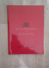 Royal Opera House. The Midsummer Marriage. 2005. Programme.