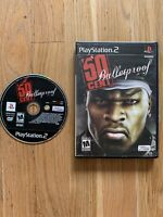 50 Cent Bulletproof (Sony, PlayStation 2, 2005) No Manual TESTED